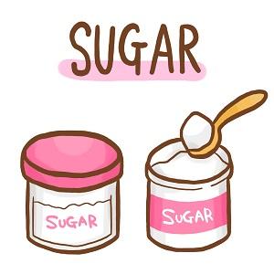 お砂糖のイラスト