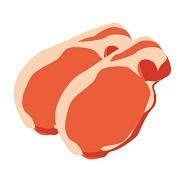 トンカツ用の豚肉