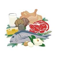 タンパク質豊富な食材たち