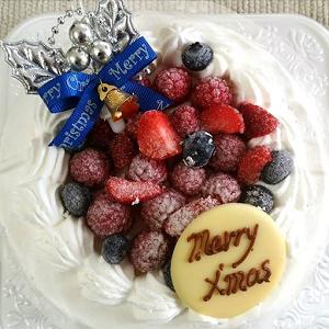 堀田洋菓子店のクリスマスケーキ