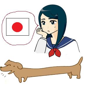 日本人の腸は本当に長いのか犬を見て考える女子高生
