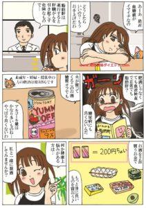 禁酒をすすめる内容の漫画